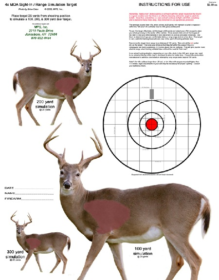 graphic relating to Printable Deer Targets named The Hunter Ed Focus